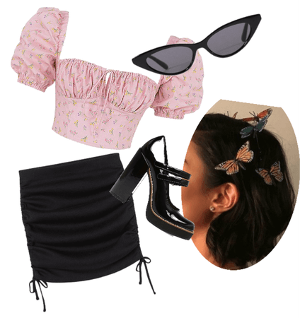 Summer Black and Pink