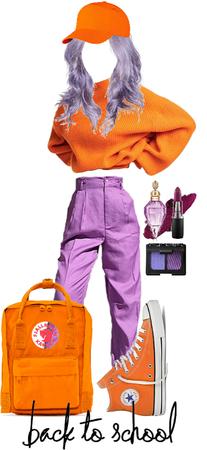 Orange + Purple 🧡💜