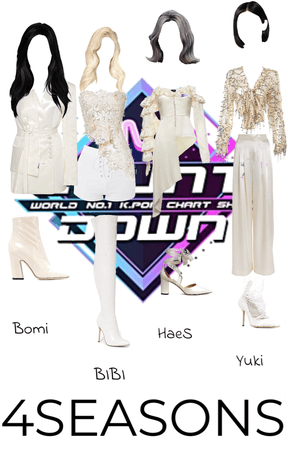 4SEASONS Outfit #1 | Debut Stage (Aurora)
