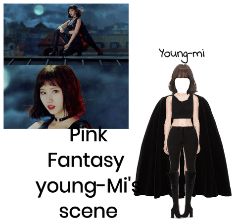 Pink Fantasy Young-mi's  scene