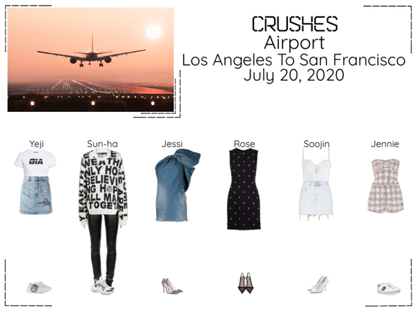 Crushes (호감) Airport Los Angeles To San Francisco