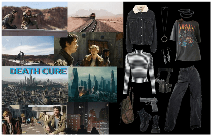 maze runner: death cure outfit