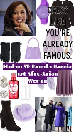 madam VP first African Asian women Kamala Harris