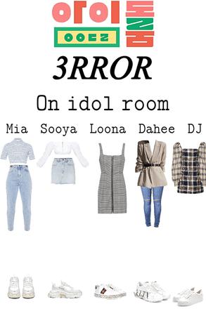 3RROR on Idol Room