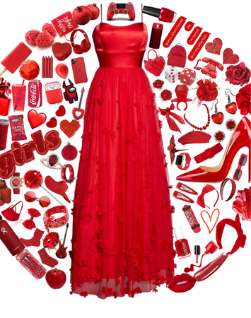 lace is the best case!   Red Lace Dress