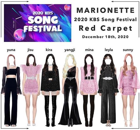 𝐌𝐀𝐑𝐈𝐎𝐍𝐄𝐓𝐓𝐄 | [RED CARPET] 2020 KBS Song Festival