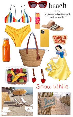 Snow White- Beach