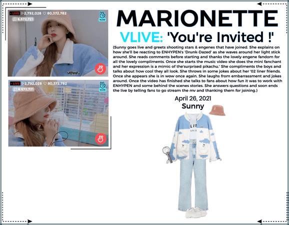 마리오네트 (MARIONETTE) - [SUNNY] VApp Livestream