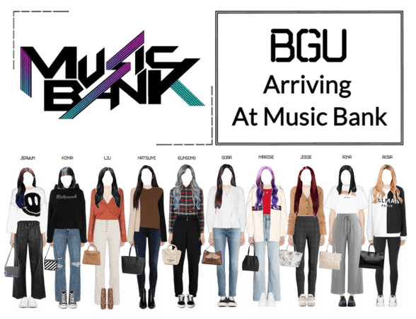 BGU Arriving At Music Bank