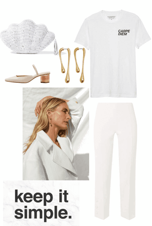 All White Is Always Chic