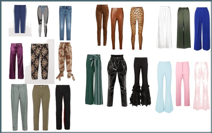 Modelos de calça