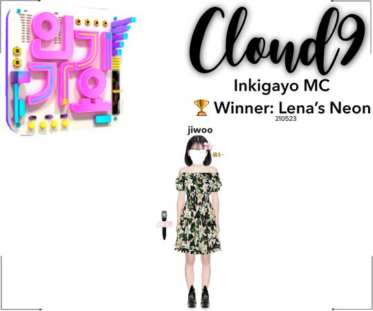 Cloud9 (구름아홉) | [JIWOO] Inkigayo MC