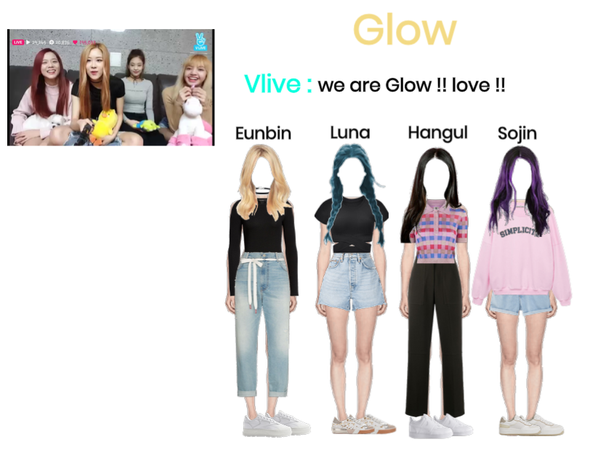 Glow Vlive we are glow !! love !!