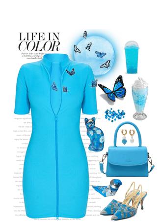Turquoise Blue!
