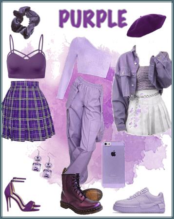 Mix-match purple
