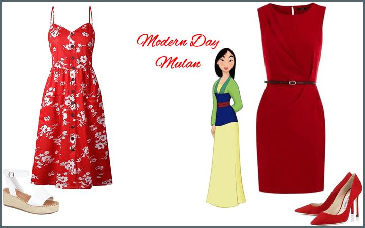 Modern Day Mulan