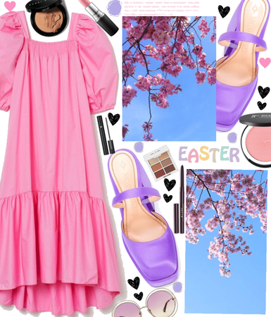 Easter in Purple & Pink