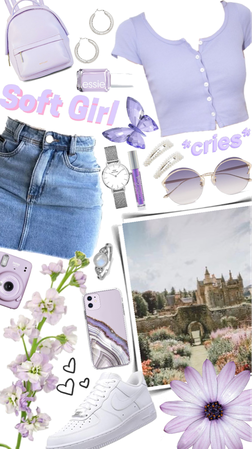 Lavender outfit💜