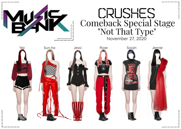 Crushes 'Not That Type' Comeback Special Stage