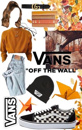 vans in autumn 🍂