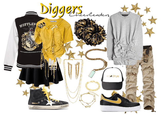 Diggers Cheeleaders Uniform #2