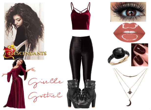 Giselle Gothel - Isle of the Lost