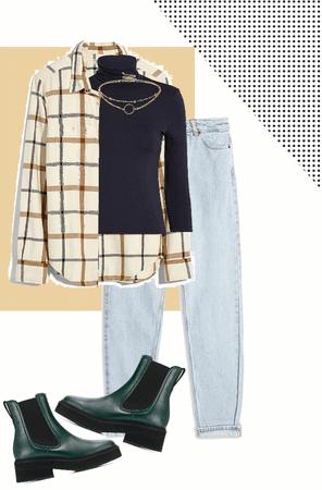 turtlenecks & flannels