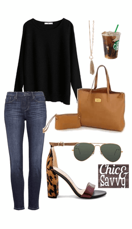 Neutral Base Casual outfit