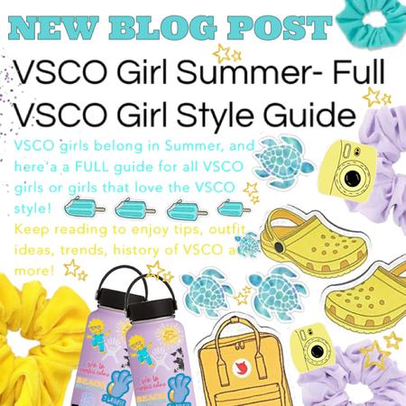 new blog post/ VSCO