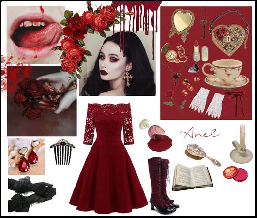 Victorian vampire princess