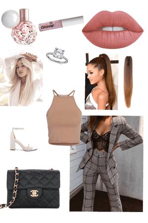 Ariana Grande's outfit in «Boyfriend»
