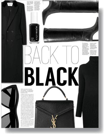 back to black 🖤