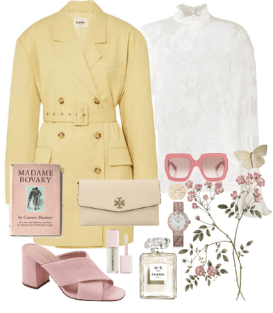 yellow and pink love