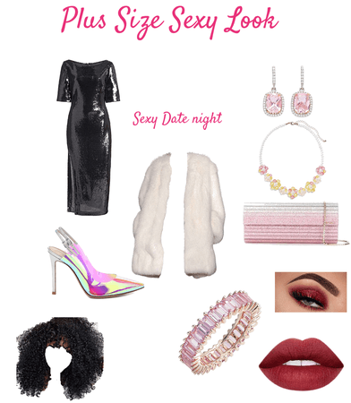 Plus Size Sexy Look : Sexy Date Night
