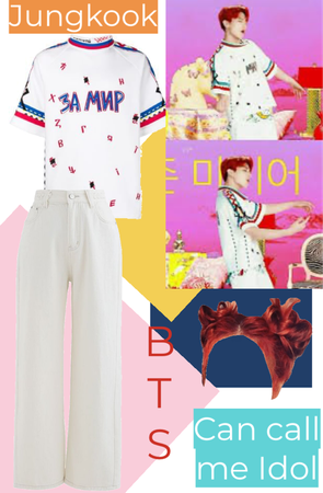 BTS IDOL Jungkook inspired outfit