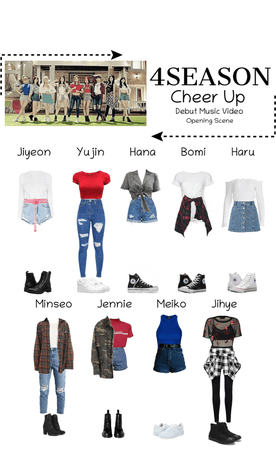 -4SEASON- Cheer Up Debut Music Video Opening Scenes