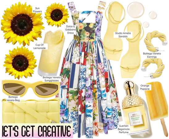 Let's Get Creative: Sunflower Vibe ( 5.28.2021 )