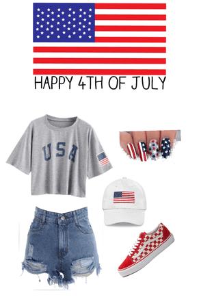 happy Fourth of July❤️💙