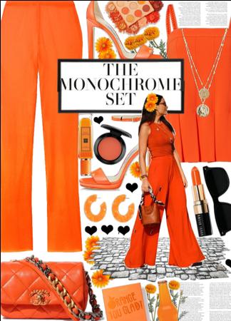 The monochrome set  Ornage