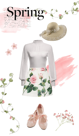 Spring Floral Date