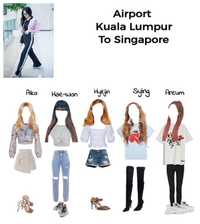 Airport Fashion Kuala Lumpur to Singapore