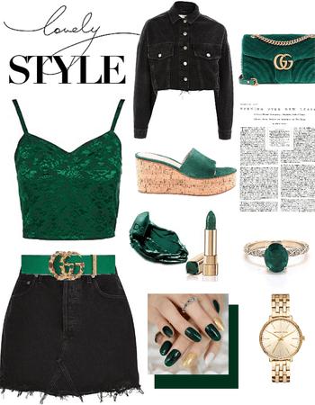 Lovely style 💚