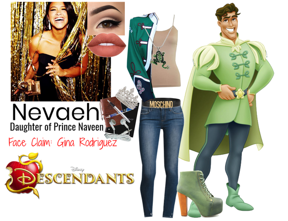 Nevaeh - Daughter of Prince Naveen (Descendants OC