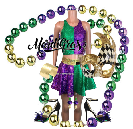 Mardi Gras Outfit