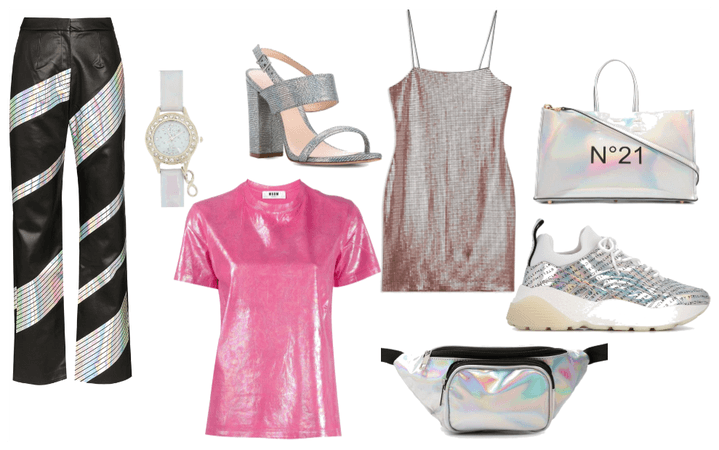 Spring trend - holographics