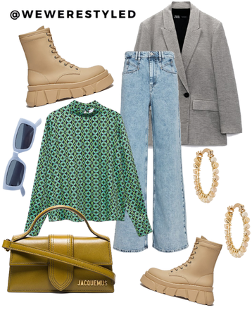 early fall outfit idea