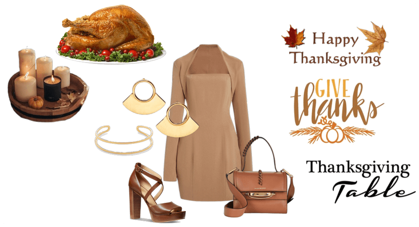 Thanksgiving dinner outfit