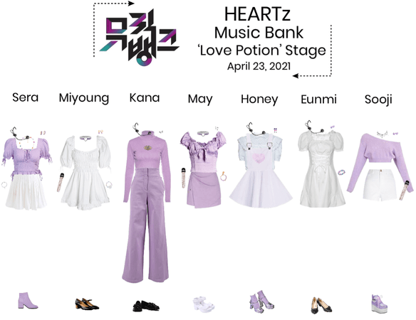 {HEARTz} 'Love Potion' Music Bank Stage