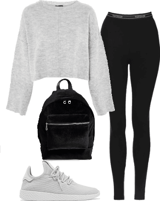 Comfy School Outfit