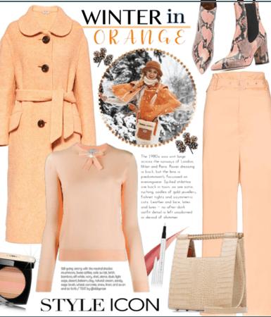 Winter in Orange
